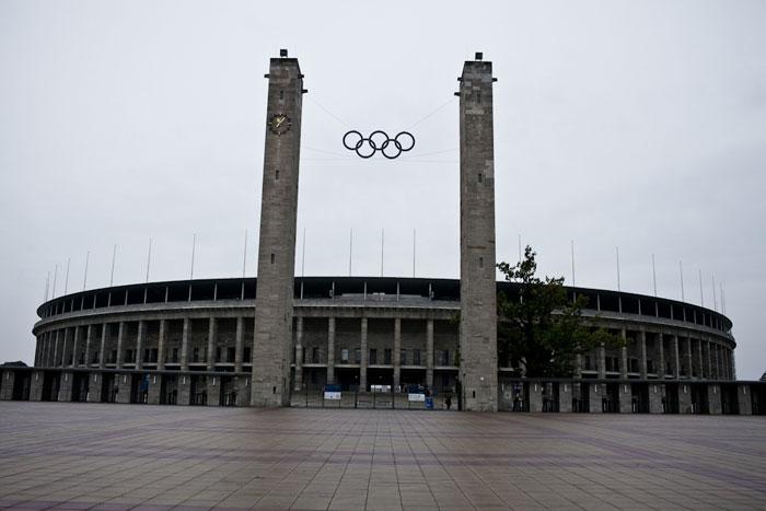 Estádio Olímpico usado nas Olimpíadas de 1936