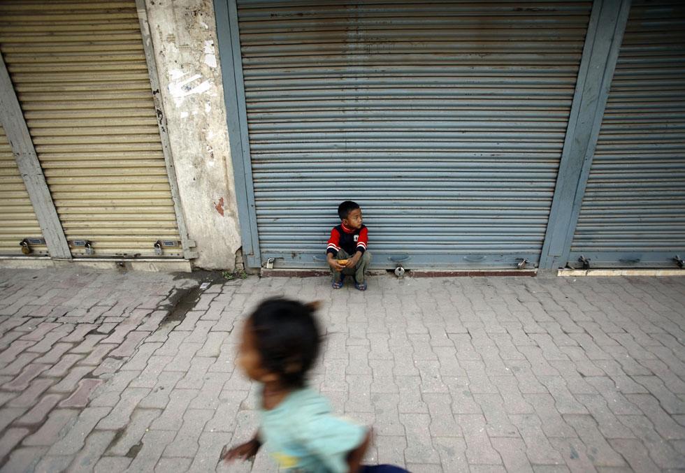 Entre a corrida e o descanso em Katmandu