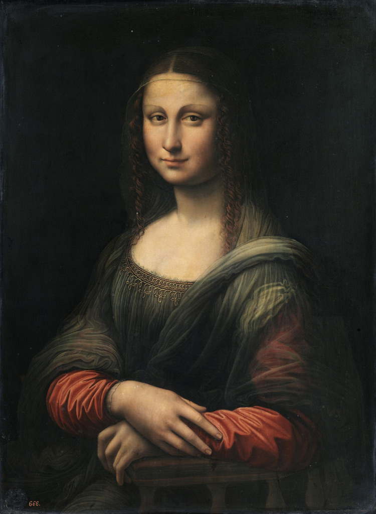 Réplica de Mona Lisa antes do restauro<b>DR</b>