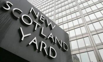 A Scotland Yard foi gravada a dar informações ao FBI