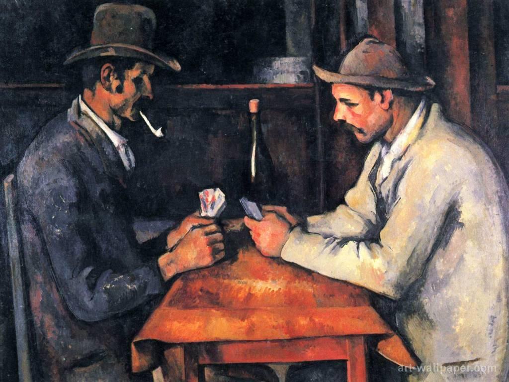 """""""Os jogadores de cartas"""" (1895) é agora o quadro mais caro do mundo"""