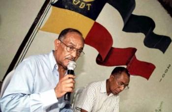 João Carrascalão  (à esquerda) tinha 65 anos