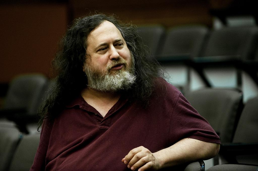 Richard Stallman em Braga