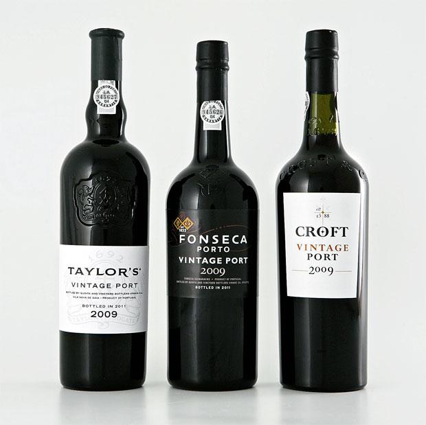 Vintages de 2009 da Taylor`s, Fonseca e Croft postos à prova