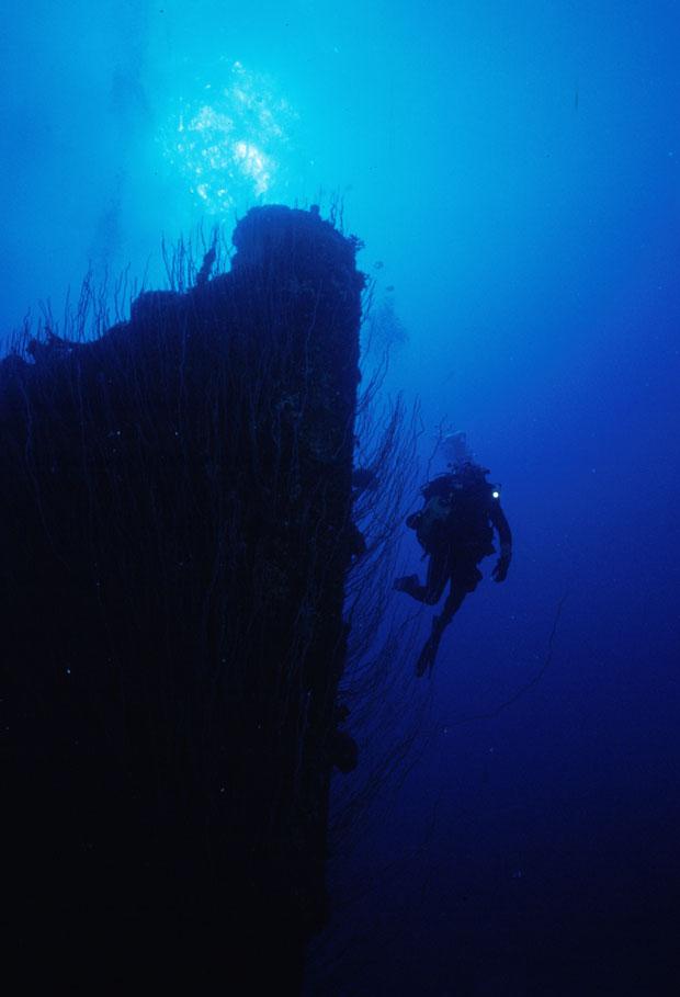 Contratorpedeiro USS Anderson | Atol de Bikini | Foto: Bikini Atoll | Saiba mais em http://fugas.publico.pt/286778