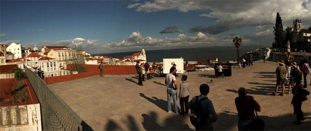 Lisboa. Maio 2011. Miradouro das Portas do Sol