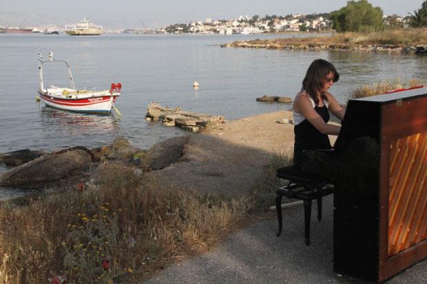 Rumo à Grécia