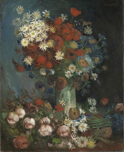 Reprodução do quadro agora atribuído a Van Gogh<b>Imagem: DR</b>