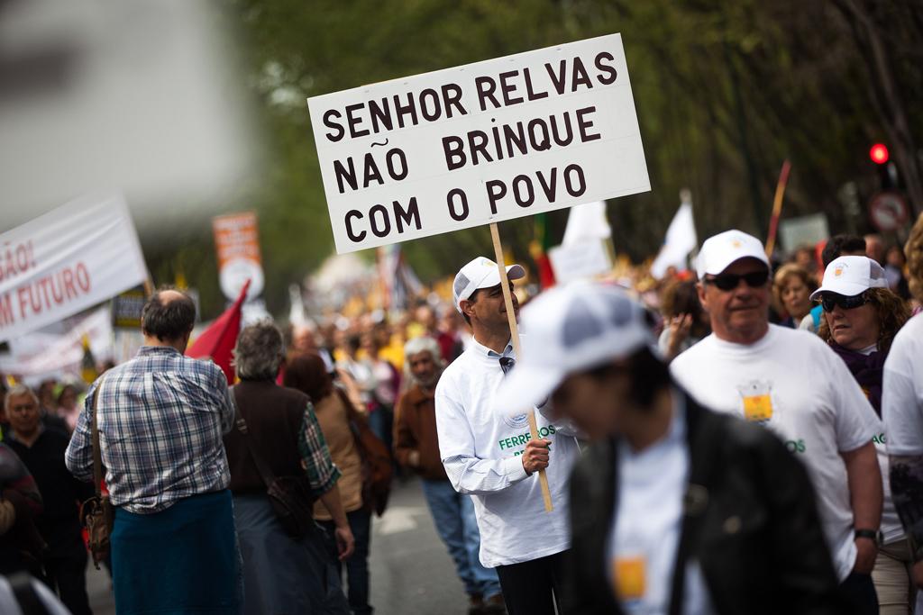 Gente de todo o país acorreu a Lisboa