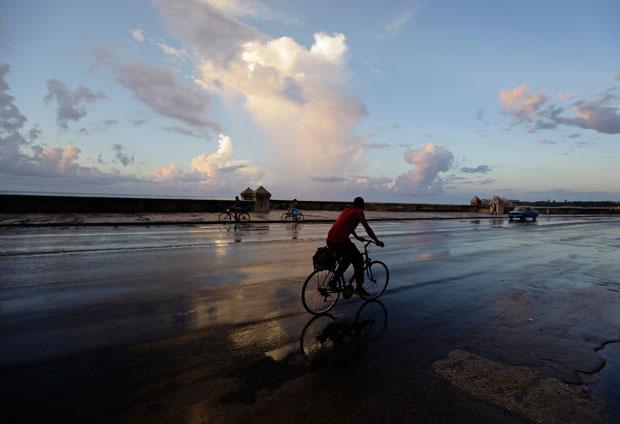 Pedalando por El Malecón (Setembro 2010)