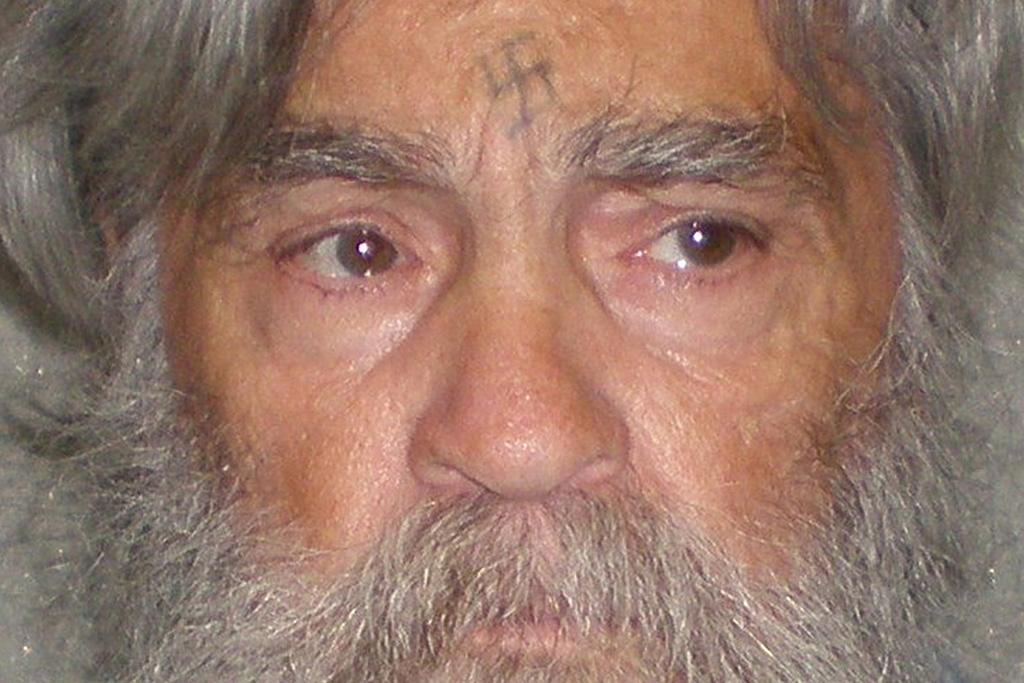 Manson, de 77 anos, numa fotografia divulgada a 5 de Abril