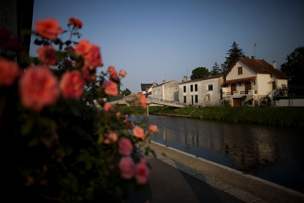 Coulon, no Marais Poitevin |