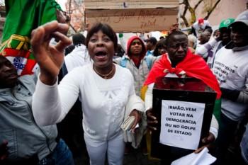 Guineenses manifestaram-se neste sábado em Lisboa