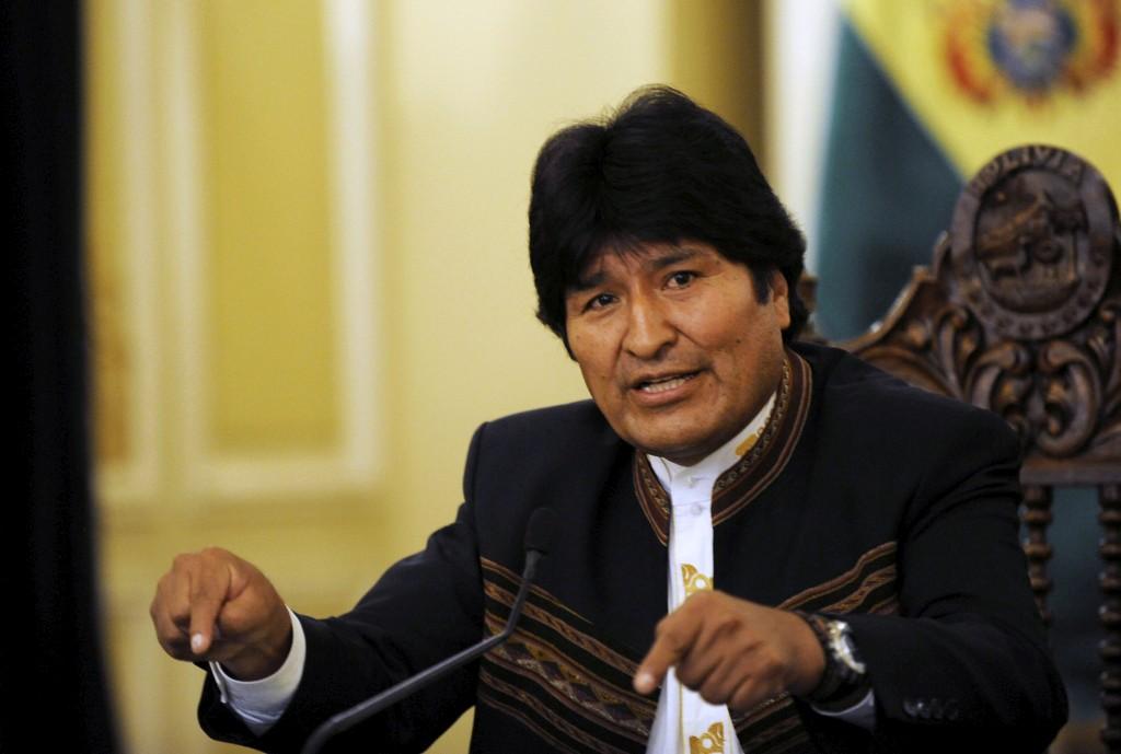 """<p>Morales defendeu que recuperação dos recursos naturais é uma """"homenagem aos trabalhadores""""</p>"""