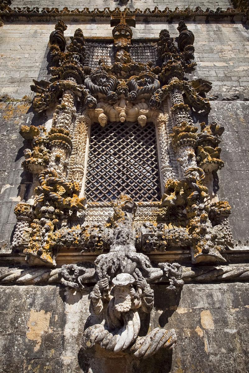 Convento de Cristo, Janela do Capítulo