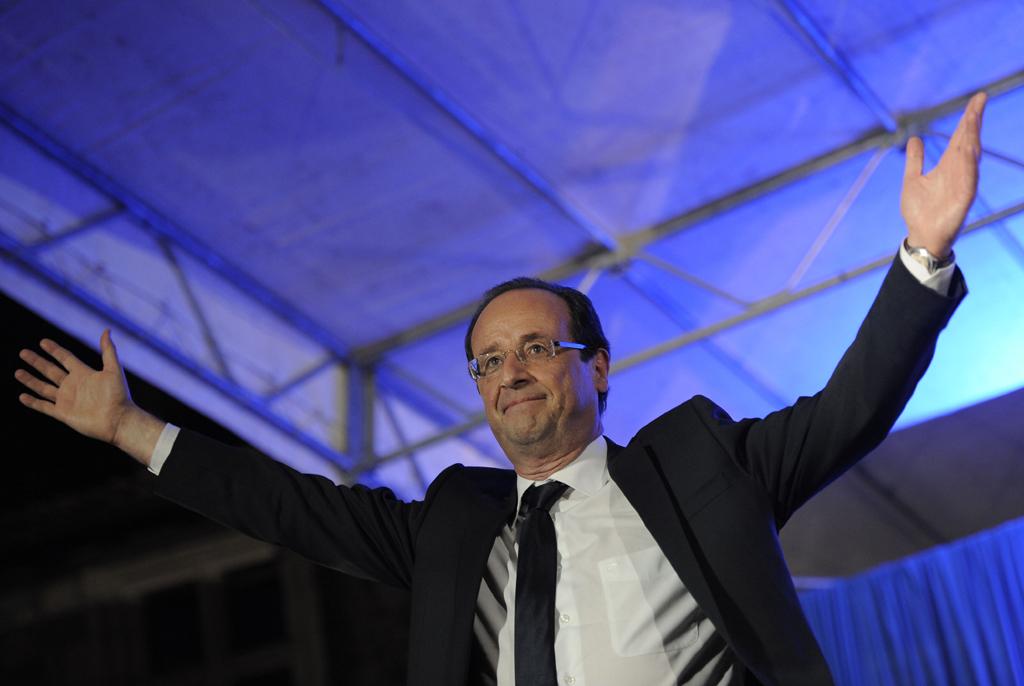 Hollande derrotou Sarkozy na presidenciais de ontem