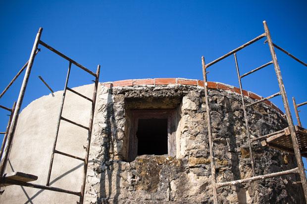Forte de Olheiros, Torres Vedras, em recuperação
