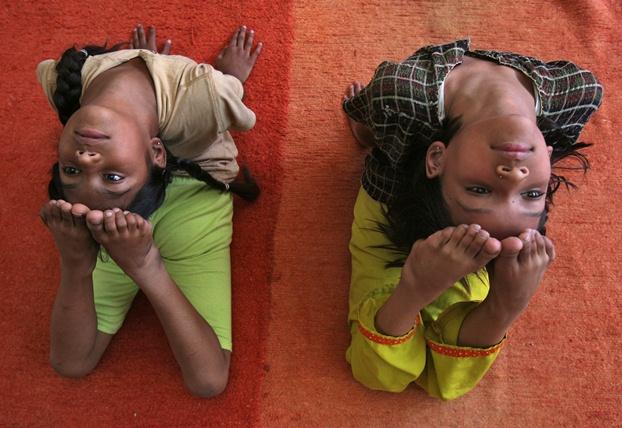 Perto de mil ásanas (poses de ioga) já foram filmadas e estão indexadas na Traditional Knowledge Digital Library, em Nova Deli