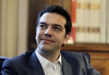 Alexis Tsipras, o líder do Syriza, o partido de esquerda radical que surge como vendedor na última sondagem