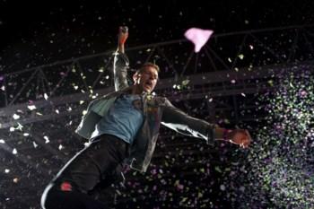 Durante 1h40, os Coldplay deram um concerto ensaiado ao milímetro