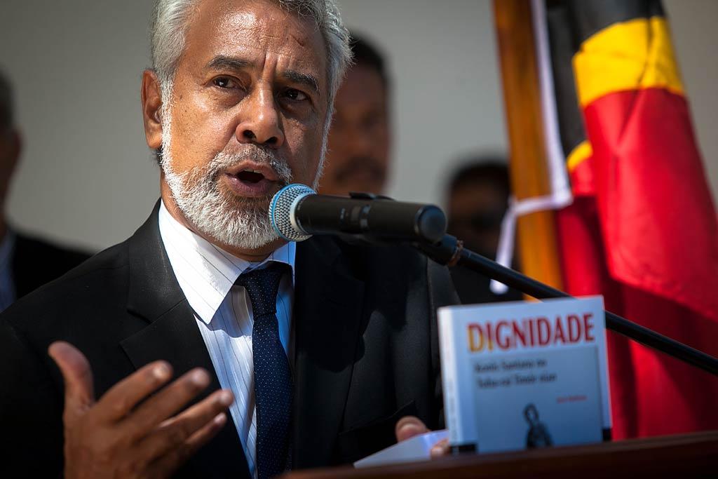 Xanana Gusmão disse que o país soube consolidar o desenvolvimento democrático