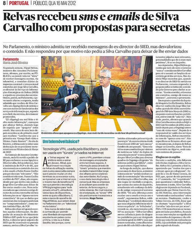 Notícia publicada na edição impressa do dia 16 de Maio