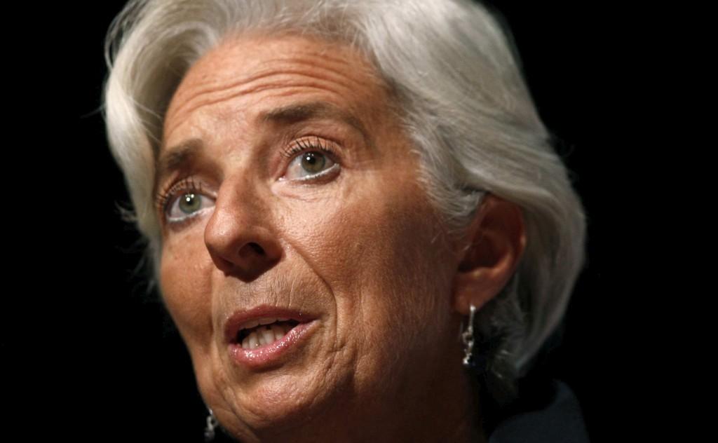 Lagarde disse que chegou a hora de pagar para a Grécia