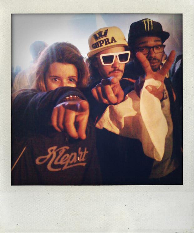 A essência do hip hop é atitude. E por isso esta pequena crew, mesmo sem emitir um som, está no nosso top