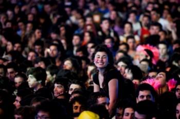 Em quatro dias de festival estiveram no Parque da Bela Vista 265 mil espectadores
