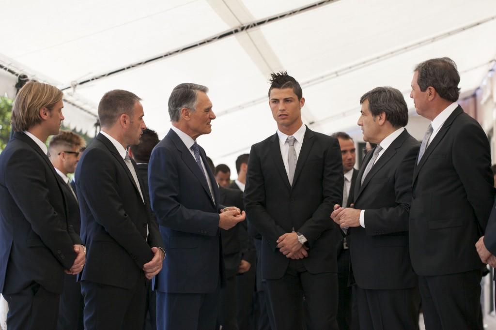 "Cavaco pede energia, Ronaldo promete equipa ""concentradíssima"""