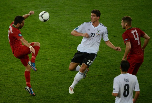 Portugal perdeu com a Alemanha no Primeiro jogo do Euro 2012