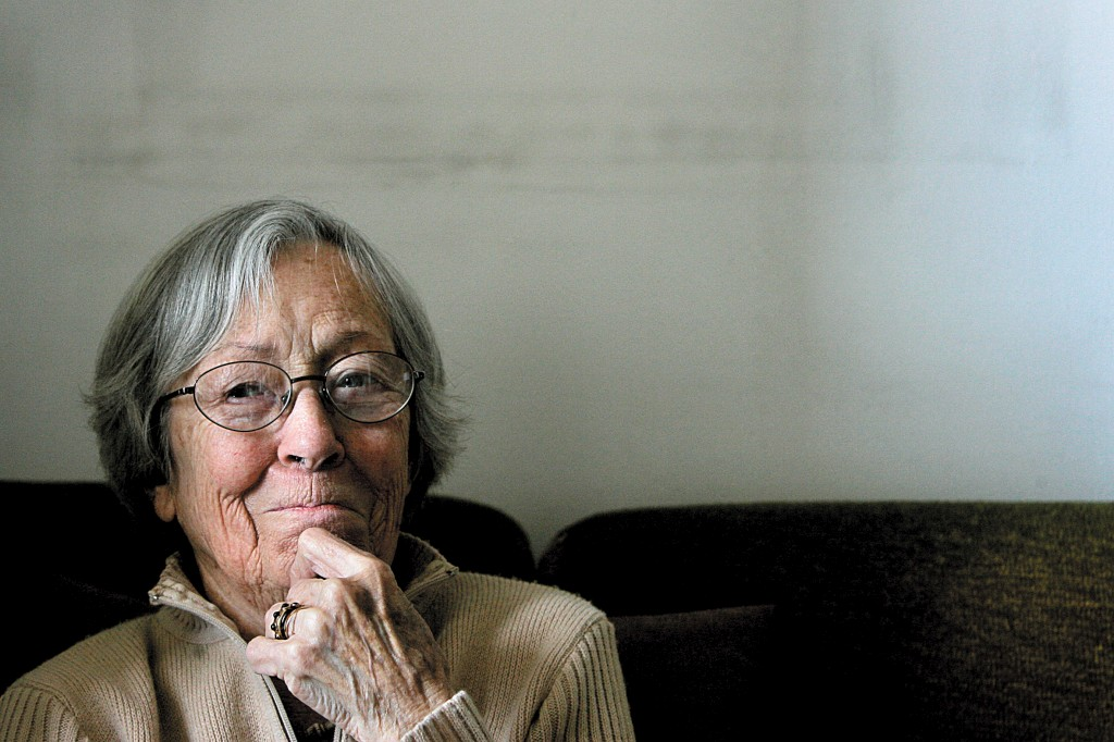 Maria Keil, fotografada em 2007