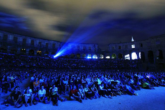 Croácia, Pula | Mais de seis mil pessoas assistiram à estreia de