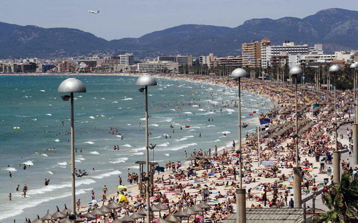 Espanha, Palma de Maiorca, 26.07.2011 | Ponto da situação nas areias de Maiorca: ocupadas...