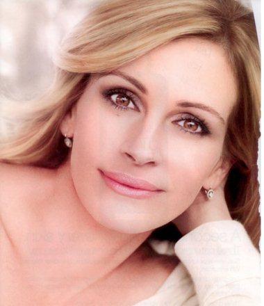 Imagem da campanha publicitária da Lâncome com a actriz Julia Roberts