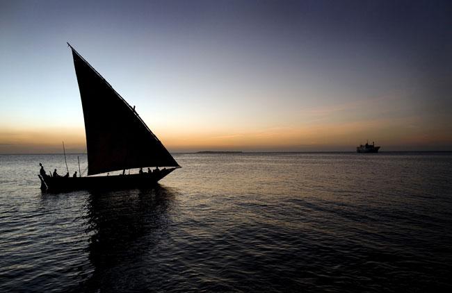 Zanzibar, entre o céu e o mar