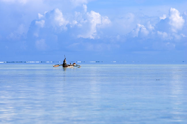Praia de Bwejuu, considerada uma das mais belas do mundo (a Condé Nast Traveller colocou-a até no seu top-30)