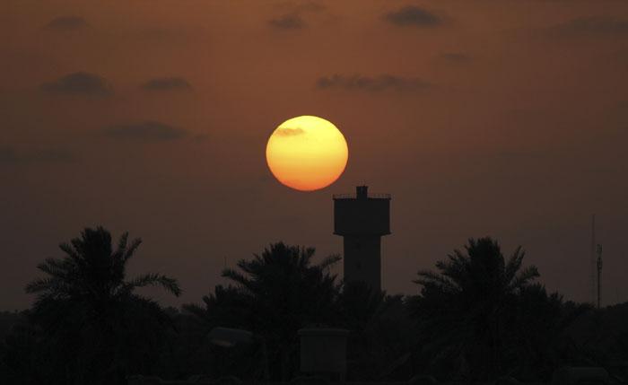Libia, Misrata, 28.07.2011 | Uma imagem de pacífico entardecer num país a viver momentos trágicos, a poucos dias do início do Ramadão