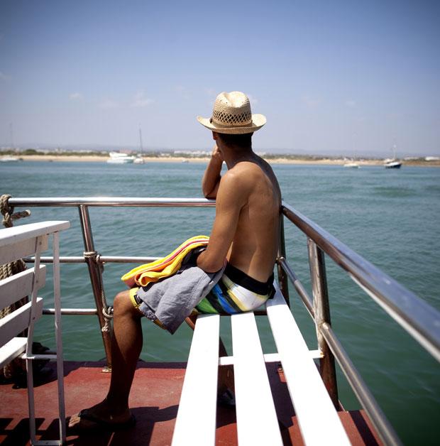 Ilha de Tavira à vista