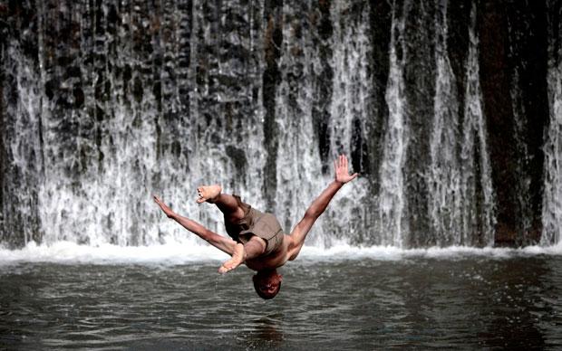 Bósnia, 07.08.2011 | Mergulho confiante no rio Babina Rijeka em Babino (a uns 80km de Sarajevo).