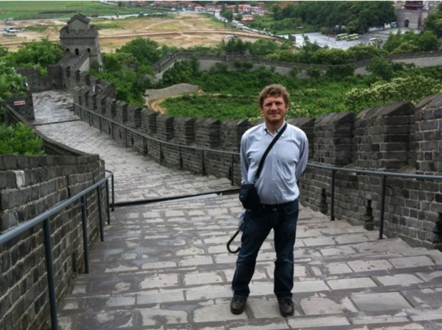 João Paulo Peixoto na China