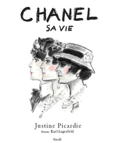 Nova biografia de Coco Chanel com ilustrações de Karl Lagerfeld