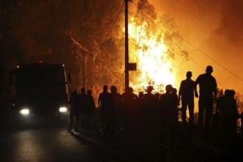Incêndios na Madeira
