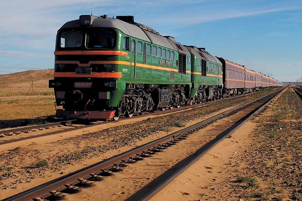 O Transiberiano liga as duas cidades russas de Moscovo e Vladivostoque