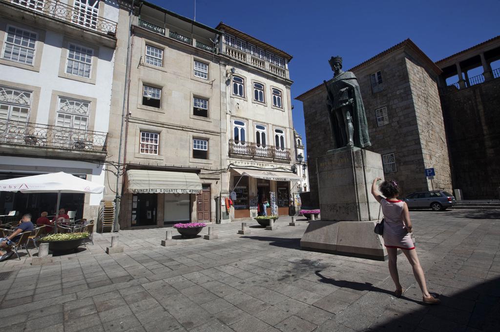 O centro histórico de Viseu