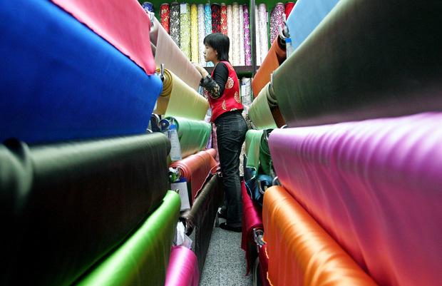 Têxteis com propriedades tóxicas