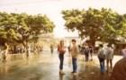 Na China, em 1983. É bom viajar