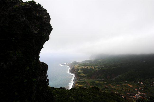 Vista da Fajã Grande