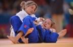 A judoca portuguesa perdeu contra a norte-americana Marti Malloy