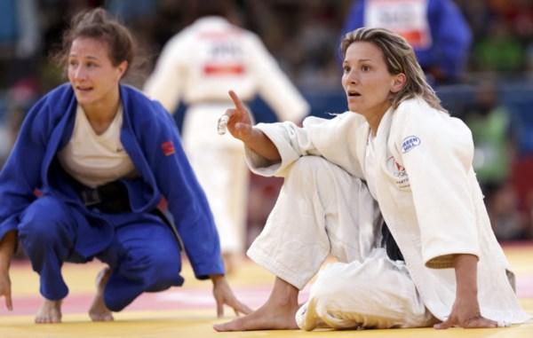 <p>Telma Monteiro era a grande esperança portuguesa para subir ao pódio</p>